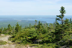 View from Cadillac Mountain Stock Image