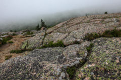 View from Cadillac Mountain in Acadia NP, Maine Royalty Free Stock Photography