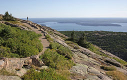 View from Cadillac Mountain Stock Photography