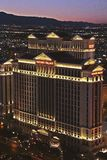View of the Caesars Palace Hotel Royalty Free Stock Photography