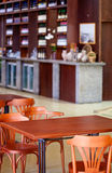 View of the cafe Royalty Free Stock Image