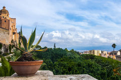 View of Cagliari, capital of the region of Sardinia, Italy Stock Image