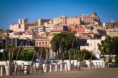 View of Cagliari, Sardinia, Italy. Stock Photography