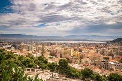 View of Cagliari, Sardinia, Italy. Stock Photo
