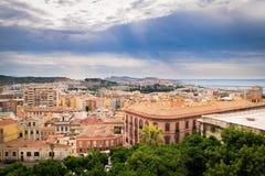 View of Cagliari, Sardinia, Italy. Stock Images