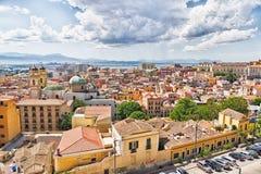 View of Cagliari, Sardinia, Italy. Royalty Free Stock Photography