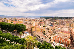 View of Cagliari, Sardinia, Italy. Royalty Free Stock Image