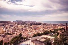 View of Cagliari, Sardinia, Italy. Royalty Free Stock Photo