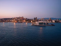 View of Cagliari, Sardinia, Italy. Royalty Free Stock Images