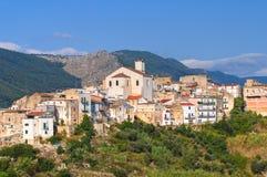 View of Cagnano Varano. Puglia. Italy. Stock Image