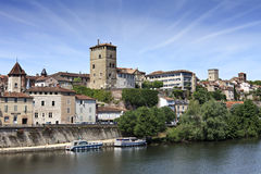 View on Cahors Stock Image