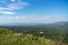 View from the Cairngorms Stock Photo