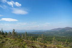 View from the Cairngorms Royalty Free Stock Image
