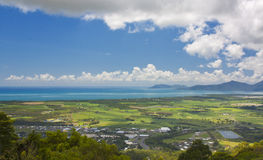 View of Cairns. North Queensland Australia royalty free stock images