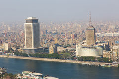 View of Cairo from Cairo Tower Stock Image