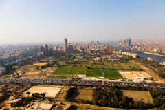 View of Cairo from Cairo Tower Royalty Free Stock Images