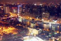 View of cairo from cairo tower Stock Photos