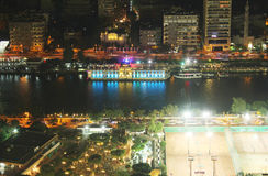 View of egypt cairo night Royalty Free Stock Photography