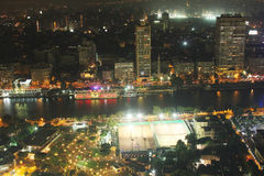Egypt cairo night Stock Photos