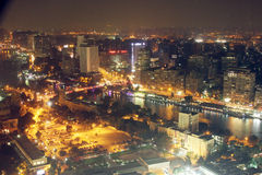 View of cairo night Royalty Free Stock Photo