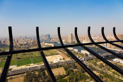 View of Cairo and Nile river Royalty Free Stock Image