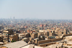 View of Cairo slums Royalty Free Stock Photo