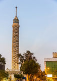 View of the Cairo Tower Royalty Free Stock Photos