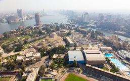 View from Cairo Tower - Egypt Stock Photo