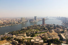 View from Cairo Tower - Egypt Stock Image