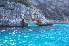 A view of Cala Goloritze beach, Sardegna Royalty Free Stock Photography
