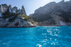 A view of Cala Goloritze beach, Sardegna Stock Photo