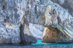 A view of Cala Goloritze beach, Sardegna Royalty Free Stock Photos