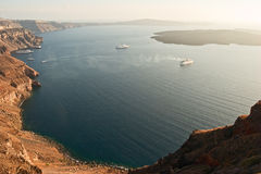 View of caldera. Stock Photos