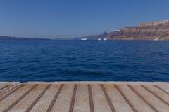 View on caldera of Santorini Royalty Free Stock Image