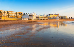 View of Caleta  Beach Stock Photo