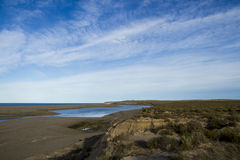 View of Caleta Valdes - Patagonia Royalty Free Stock Photography