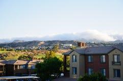 View the California city Valencia Royalty Free Stock Photography