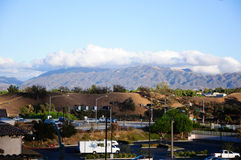 View the California city Valencia Stock Image