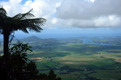 View from Cambewarra Mountain Lookout Royalty Free Stock Photos