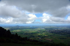 View from Cambewarra Mountain Lookout Royalty Free Stock Image