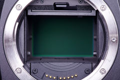 View of a camera Stock Image