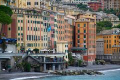 View of Camogli stock photo