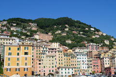 View of  camogli Royalty Free Stock Images