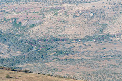 View of the camp in the Mountain Zebra National Park Stock Photography