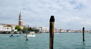 View of Campanile  in Venice Royalty Free Stock Photography