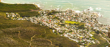 View of Camps Bay, South Africa Stock Photos