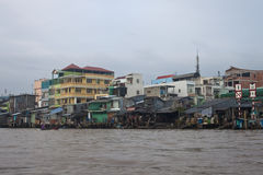 View of Can Tho. Vietnam Royalty Free Stock Photo