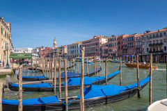 View at the Canal Grande in Venice Stock Image