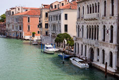 View of Canal Grande in Venice Stock Images