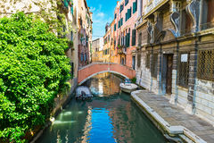 View of canal in Venice Royalty Free Stock Photos